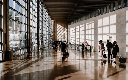 Olfactory marketing Airports