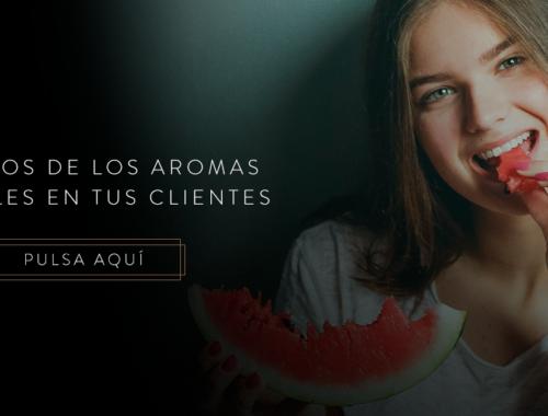 Efectos de los aromas frutales en los clientes