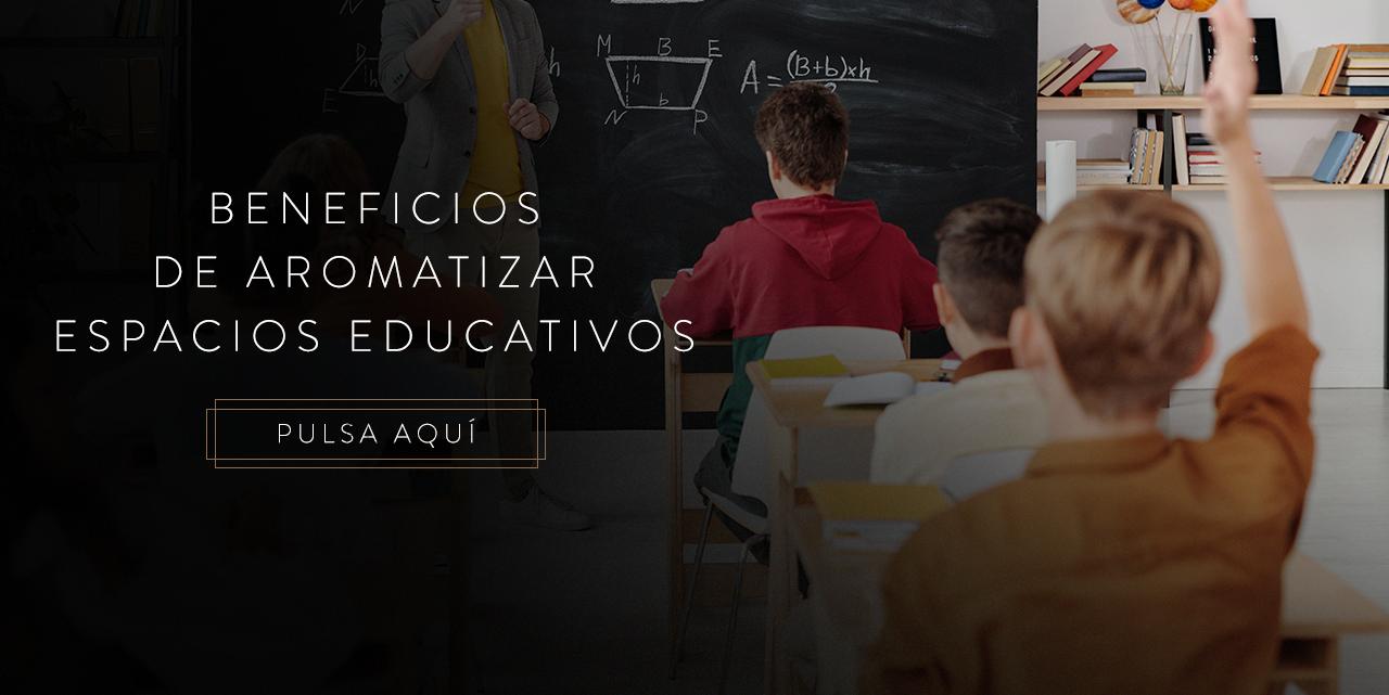 aromatizar espacios educativos